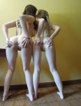 amateur photo Two shy girls
