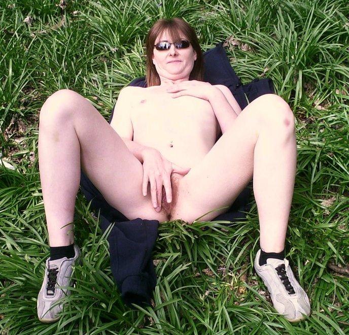 Donna, Worcester dogging slag in the woods Porn Photo