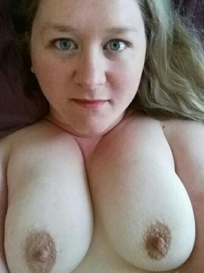 amateur photo Boobs and face this time.