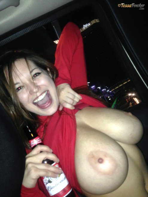 beer tits Porn Photo