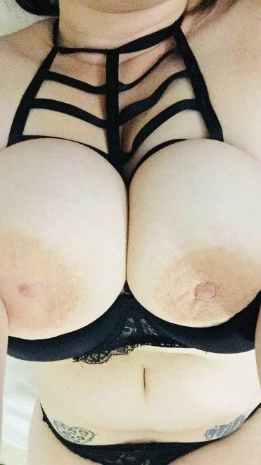 This bra really makes my boobs pop! Porn Photo