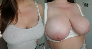 amateur photo Tank top titties revealed [F32]