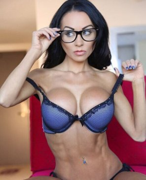 amateur photo Sweet with glasses