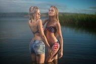 Alla and Alena Emelyanova