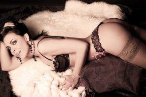 amateur photo Meliza Carranza lingerie 2