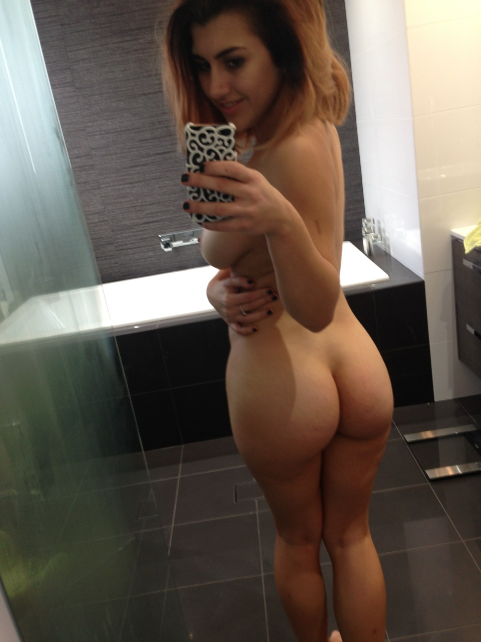 Short Hair Blonde Big Ass