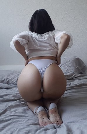 amateur photo A nice and round ass
