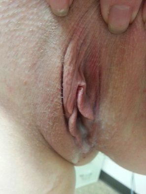 amateur photo My pussy leaking cum.