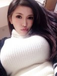 amateur photo Anri Okita sweatermeat
