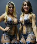 amateur photo Body paint beauty's