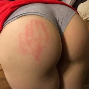 amateur photo naughty girl got spanked again by a daddy, see more on sc - babemilly