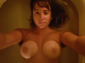 amateur photo IMAGE[IMAGE] My buoyant boobies floating in the bathtub!