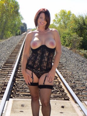 amateur photo On the tracks