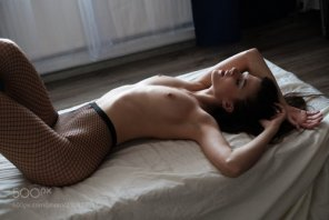 amateur photo Fishnet...