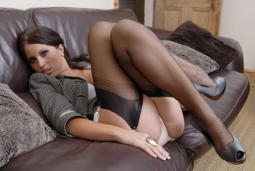 Full fashion nylon and seductive eyes Porn Photo