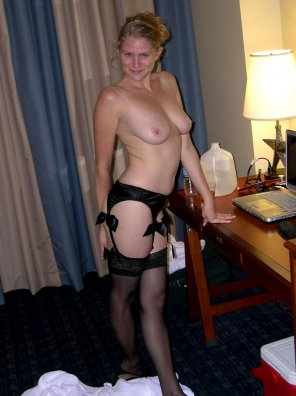 amateur photo Ready for hotel fun