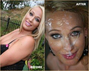 amateur photo Melanie Monroe - Before & After - Bro Banged!