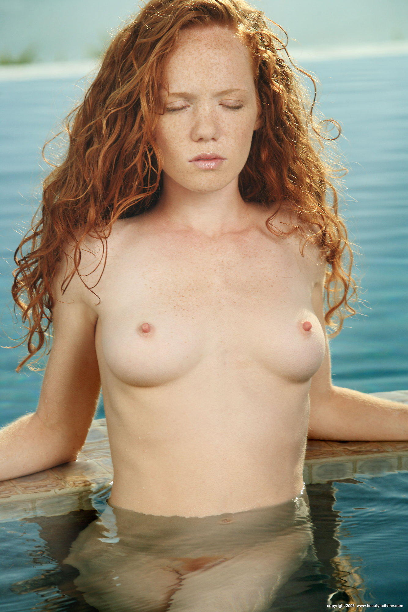 Beautiful nude girls with freckles what