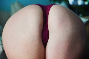 amateur photo One gentle spank