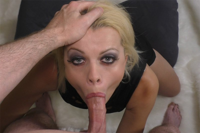 Blonde Blowjob Porn