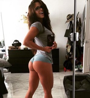 amateur photo She squats