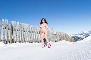 amateur photo Snow