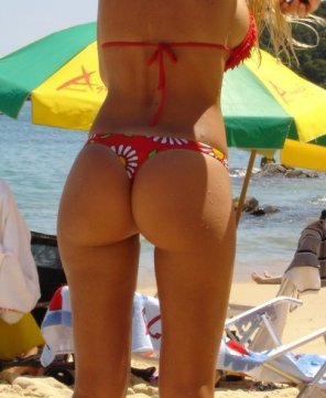 amateur photo Bikini bottom