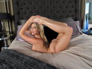 amateur photo She must be flexible