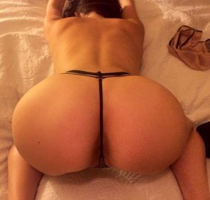 amateur photo [F] Snapchat: LanaMoans - My Ass Eats My Thong