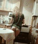 amateur photo Making breakfast