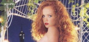 amateur photo Heather Carolin was Miss April 2002.