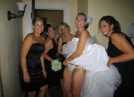 amateur photo Blushing Bride
