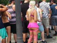 hot ass in line