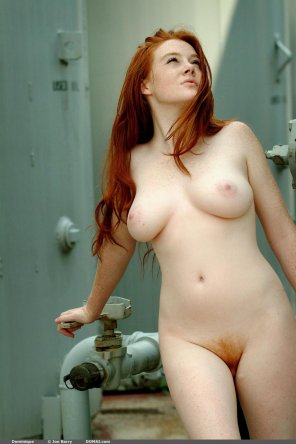 amateur photo Real red and curvy
