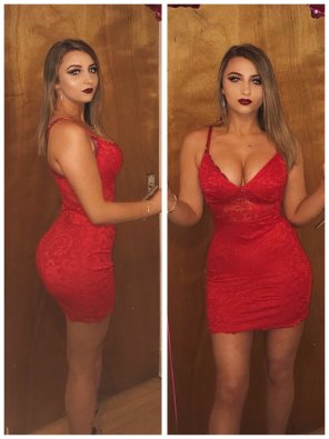 amateur photo PictureLove a red dress
