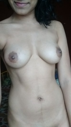 amateur photo I love getting smacked on my tits! [F]