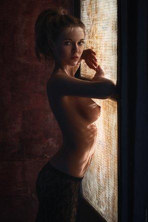 amateur photo Open blinds