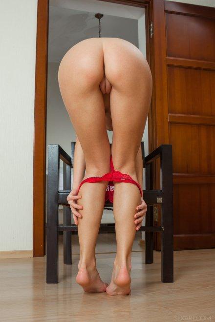 Red Panties Porn Photo