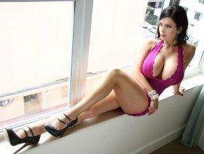 amateur photo Denise Milani