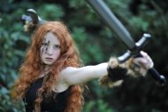 amateur photo Celtic Warrioress