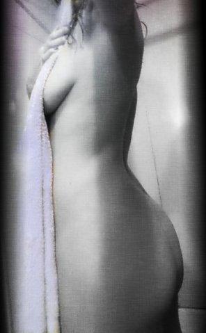 amateur photo Just a towel