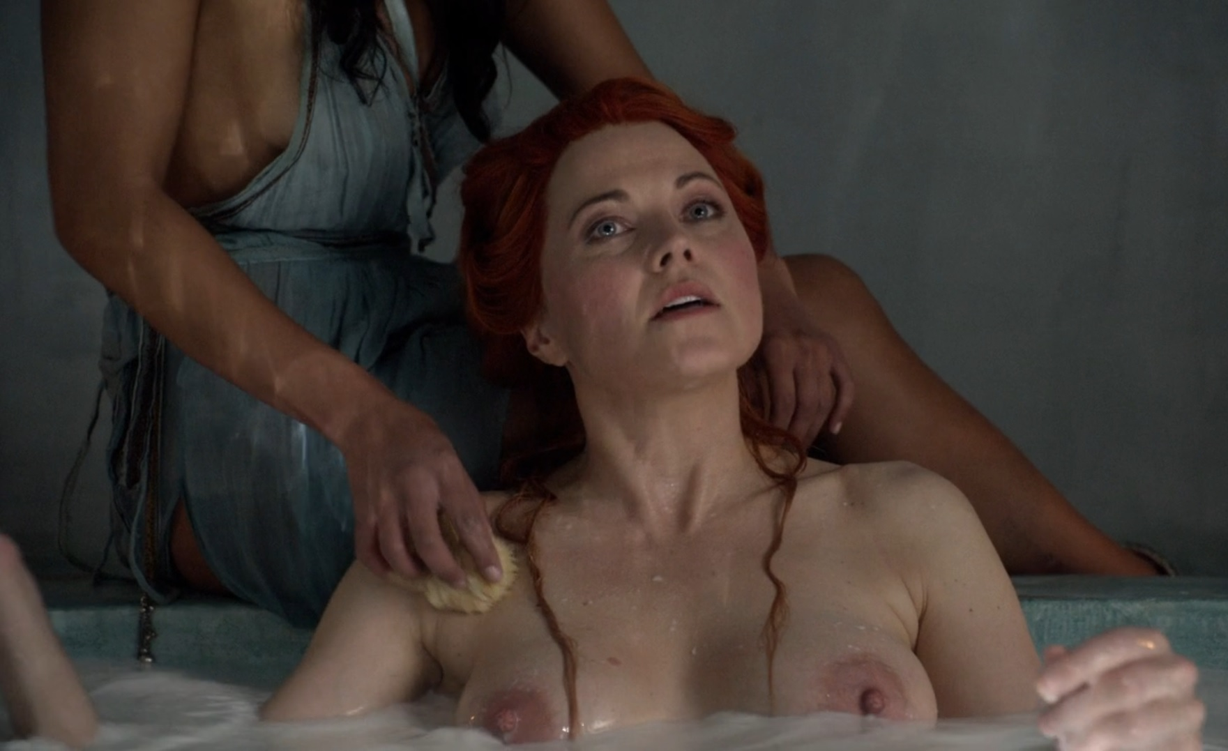 Lesbian housewife first time