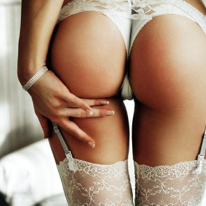 amateur photo Lovely and lacy