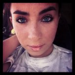 amateur photo Freckles.
