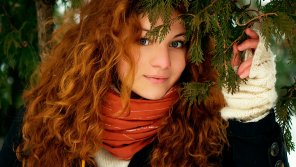 amateur photo Pretty Russian redhead