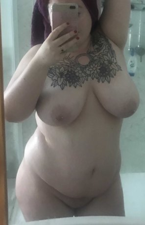 amateur photo [F]resh out of the shower...