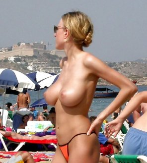 amateur photo Best beach boobs