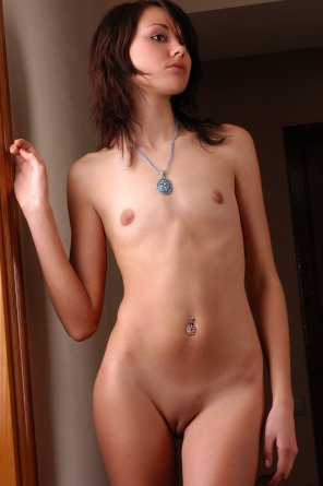 amateur photo Blue necklace