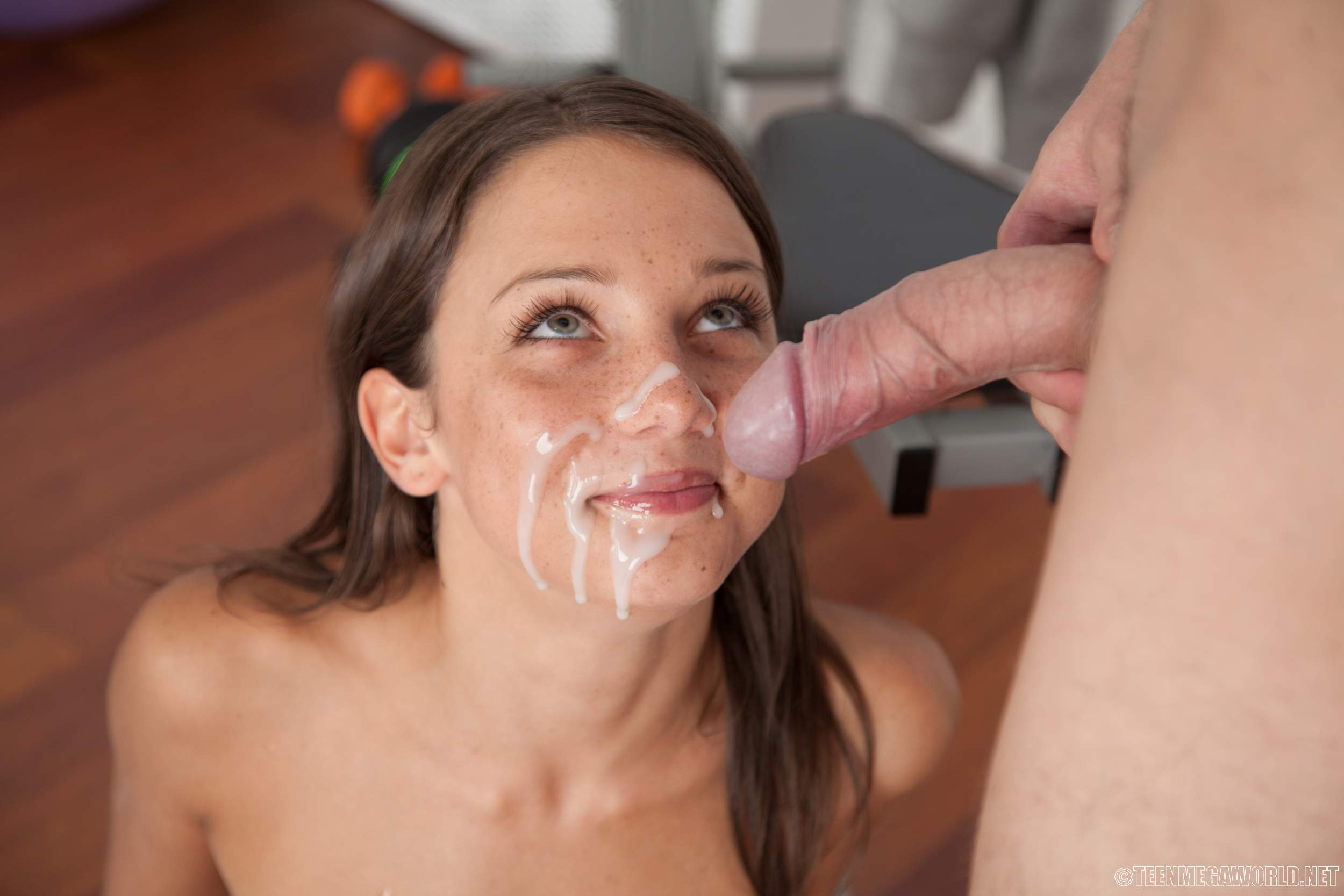 Allie haze facials compilation 5