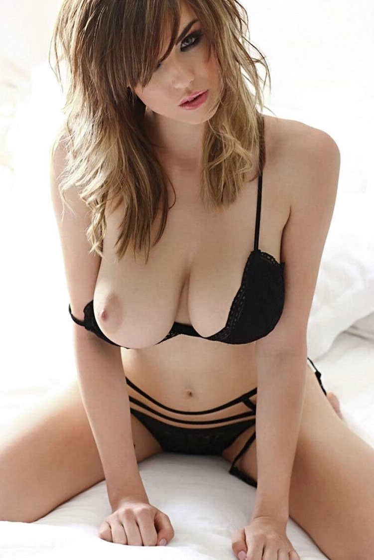 Perfect danielle sharp boobs